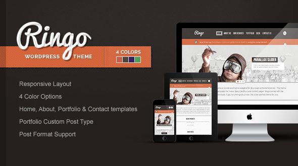 Ringo – Responsive Business WordPress Theme