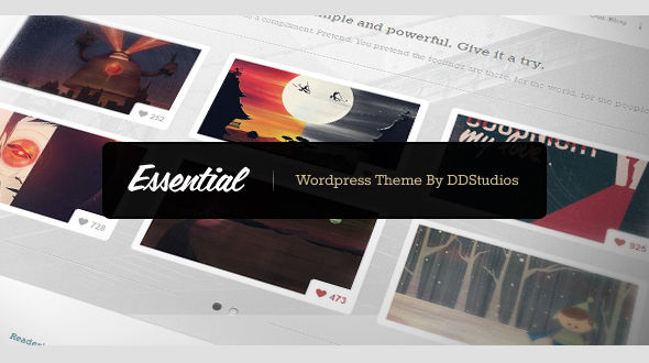 Essential – WordPress Theme