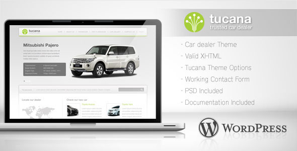 Tucana – Car Dealer WordPress Theme
