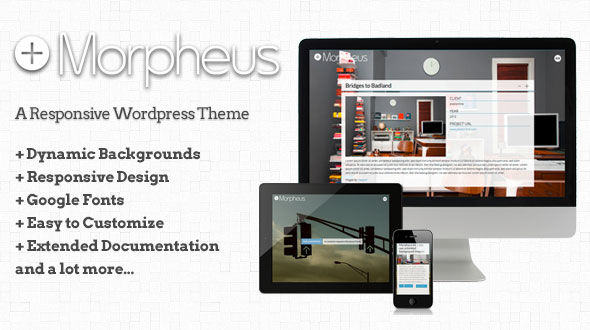 Morpheus – Responsive WordPress Theme