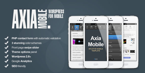 AxiaMobile – Corporate Mobile | WordPress & HTML5