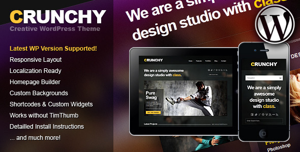 Crunchy Responsive Creative WordPress Theme