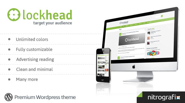 Lockhead, a powerful premium WordPress theme