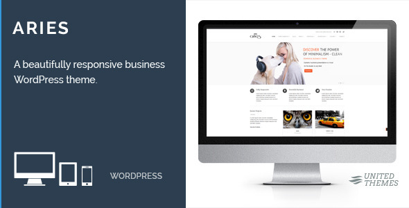Aries – Responsive Business WordPress Theme