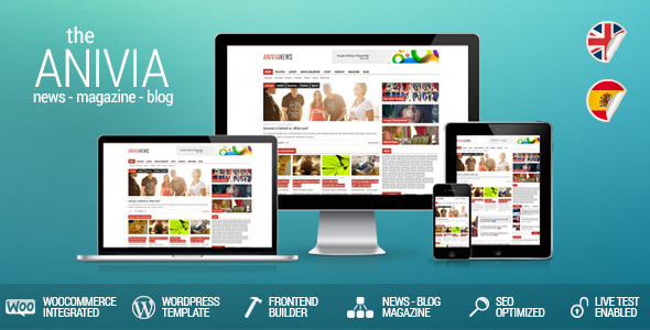 Anivia – News, Magazine, Blog WordPress Template