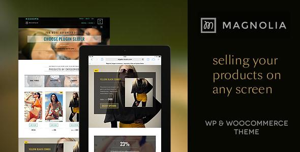 Magnolia – responsive, retina, parallax WP shop