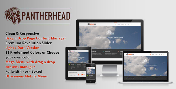 PantherHead – Premium Business & Portfolio Theme
