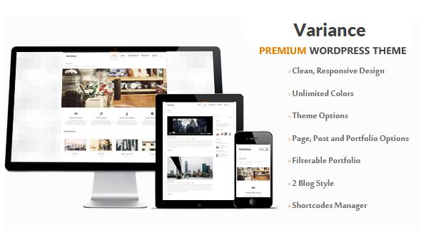 Variance | Responsive Multi-Purpose Theme
