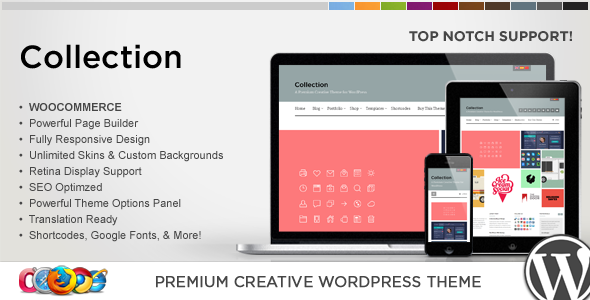 WP Collection Responsive Creative WordPress Theme