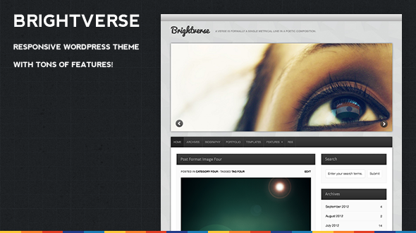 Brightverse Responsive WordPress Theme