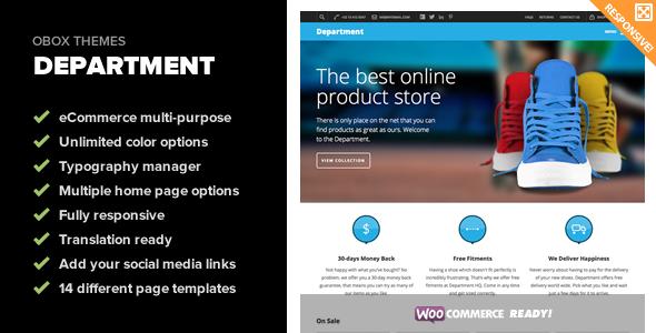 Department – Multi-Purpose eCommerce Theme