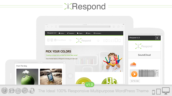 iRespond | The Ideal 100% Responsive Multipurpose WordPress Theme