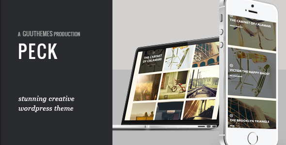 PECK – Creative One Page WordPress Theme