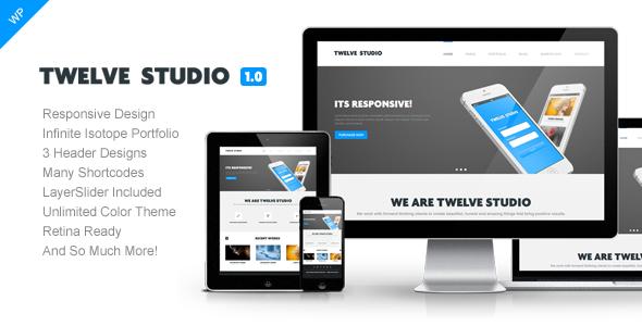 Twelve Studio – WordPress Responsive Theme