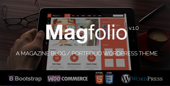 Magfolio – WP WooCommerce Portfolio Blog Theme