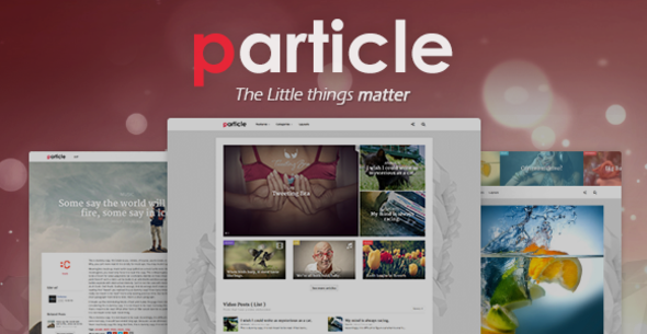 Particle – WP Magazine Theme