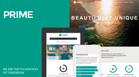 Prime / Responsive and Multipurpose WordPress Theme