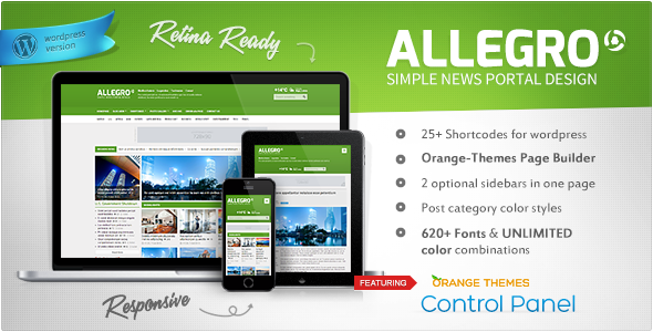 Allegro – Multipurpose News, Magazine Theme