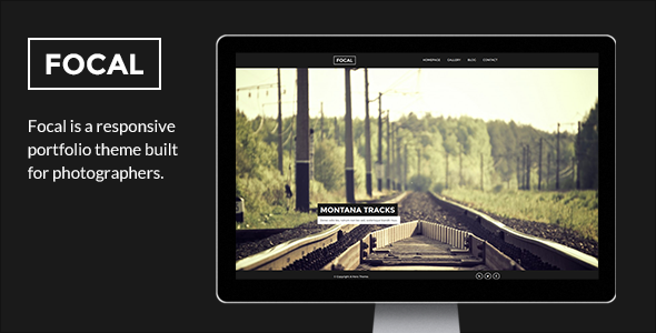 Focal – A Responsive Photography Theme