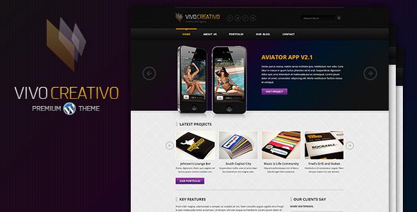 VivoCreativo – Responsive WordPress Theme
