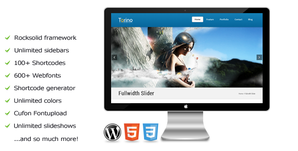 Torino – a premium WordPress theme