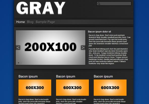 Gray – Base Plate