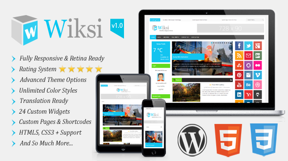 Wiksi – Responsive Magazine WordPress Theme