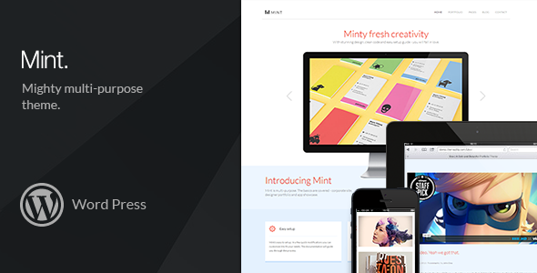 Mint – Mighty Multi-Purpose WordPress Theme