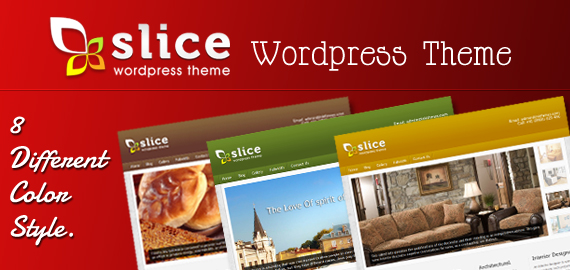 Slice Premium WordPress Theme