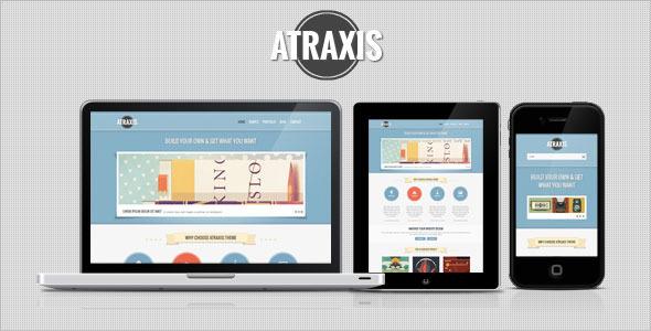 Atraxis – Creative Portfolio WordPress Theme