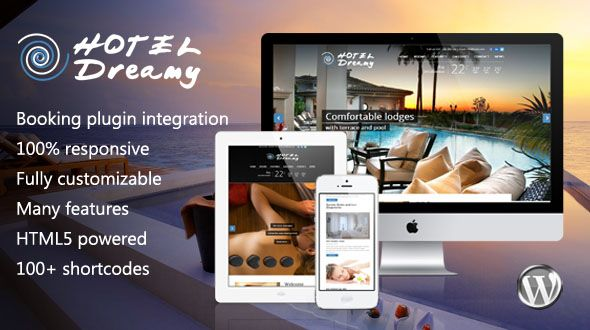 Dreamy – Responsive WordPress Hotel Theme