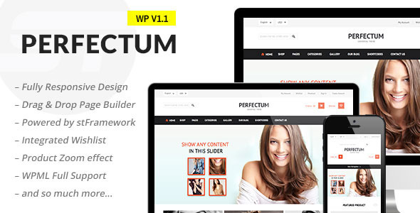 Perfectum – Flexible Responsive WooCommerce Theme
