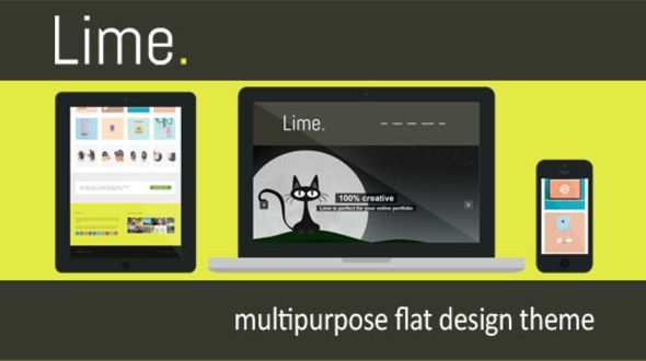 Lime – a Creative WordPress Theme