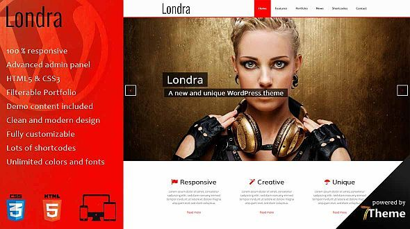 Londra – a Multipurpose WordPress Theme