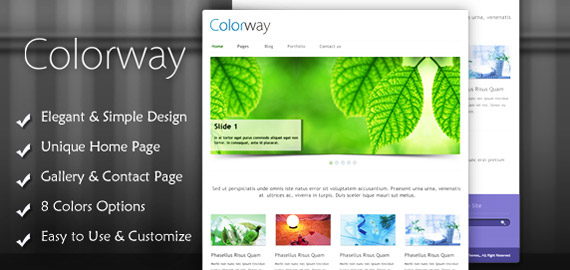 Colorway v3 – A Responsive WordPress Theme