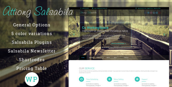 Salsabila One Page WordPress