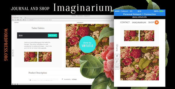 Imaginarium–Journal And Simple Shop + RTL