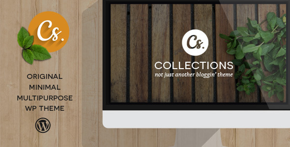 Collections – Minimal Multipurpose Blogging Theme
