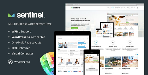 Sentinel – Responsive Multi-Purpose Theme