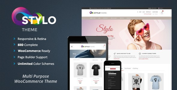 Stylo – Responsive Multi-Purpose Theme