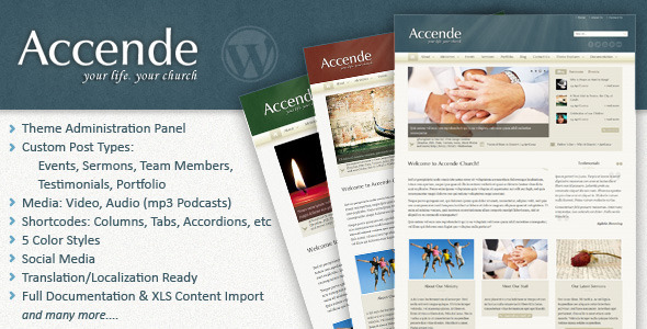 Accende – WordPress Church Theme