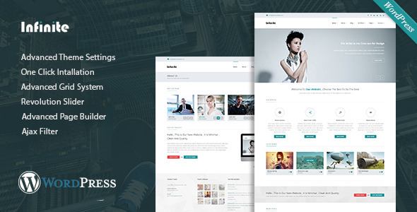 Infinite – Multipurpose WordPress Theme