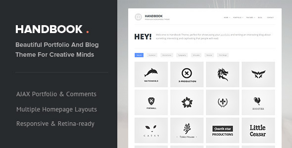 Handbook – Responsive AJAX WordPress Theme
