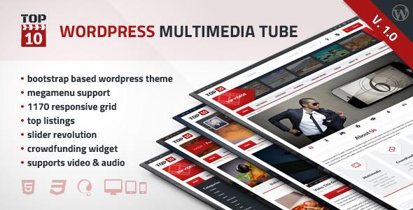TOP10 – WordPress Multimedia Tube