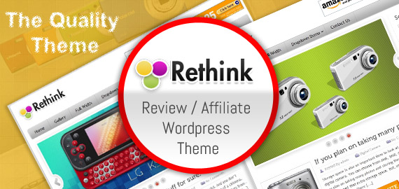 Rethink Product Review / Affiliate WordPress Theme