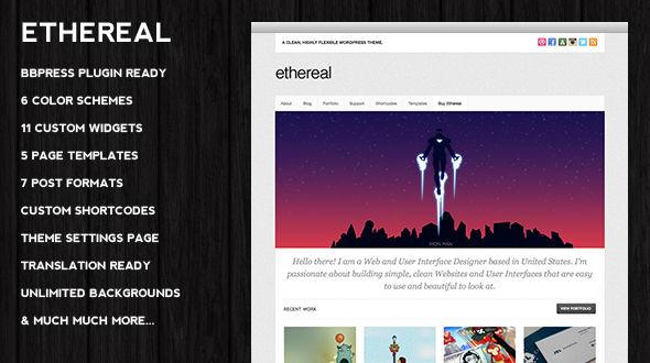 Ethereal WordPress Theme