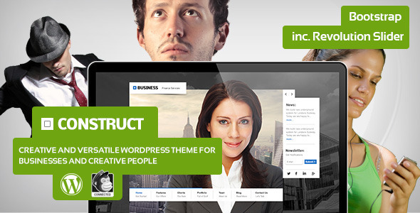 Construct – Creative Business Theme for WordPress