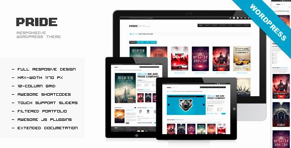 PRIDE – Responsive WordPress Theme