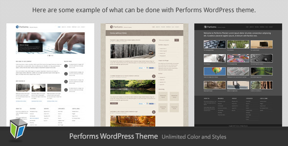 Performs – Corporate Business WordPress Theme