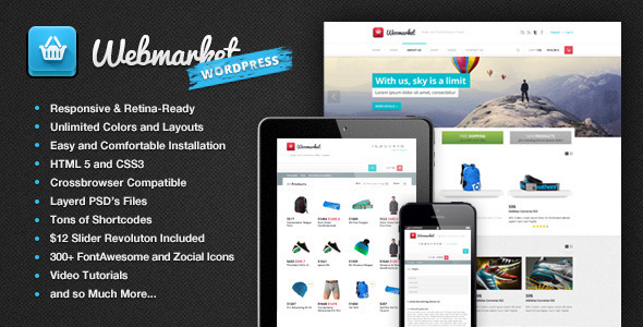 Webmarket – WP WooCommerce Theme for Online Shop